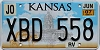 2007 Kansas Recreational Vehicle graphic # XBD-558, Johnson County