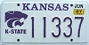 2007 Kansas State University graphic # 11337