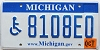 2007 Michigan Disabled graphic # 8108E0