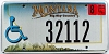2007 Montana Disabled Big Sky graphic # 32112