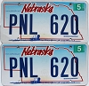 2007 Nebraska Wagon graphic pair # PNL-620
