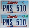 2007 Nebraska Wagon graphic pair # PNS-510