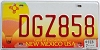 2007 New Mexico Balloon graphic # DGZ858