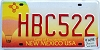 2007 New Mexico Balloon graphic # HBC522