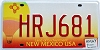 2007 New Mexico Balloon graphic # HRJ681