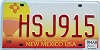 2007 New Mexico Balloon graphic # HSJ915