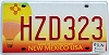 2007 New Mexico Balloon graphic # HZD323
