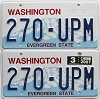 2007 Washington pair # 270-UPM