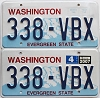 2007 Washington pair # 338-VBX