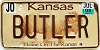 2008 Kansas Buffalo graphic #BUTLER