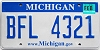 2008 Michigan graphic # BFL-4321