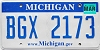 2008 Michigan graphic # BGX-2173