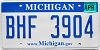 2008 Michigan graphic # BHF-3904