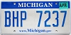 2008 Michigan graphic # BHP-7237