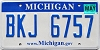 2008 Michigan graphic # BKJ-6757