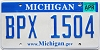 2008 Michigan graphic # BPX-1504