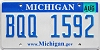 2008 Michigan graphic # BQQ-1592