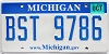 2008 Michigan graphic # BST-9786