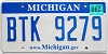 2008 Michigan graphic # BTK-9279