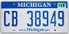 2008 Michigan graphic # CB-38949