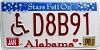 2008 Alabama Stars disabled graphic # D8B91