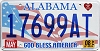 2008 Alabama God Bless America # 17699AT