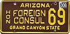 2008 Arizona Honorary Foreign Consul # 69