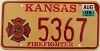 2008 Kansas Firefighter graphic # 5367