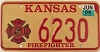 2008 Kansas Firefighter graphic # 6230