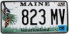 2008 Maine graphic # 823 MV