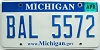 2008 Michigan graphic # BAL-5572