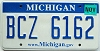 2008 Michigan graphic # BCZ-6162