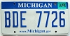2008 Michigan graphic # BDE-7726