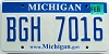 2008 Michigan graphic # BGH-7016