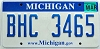 2008 Michigan graphic # BHC-3465
