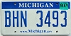 2008 Michigan graphic # BHN-3493