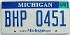 2008 Michigan graphic # BHP-0451