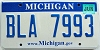 2008 Michigan graphic # BLA-7993