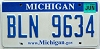 2008 Michigan graphic # BLN-9634