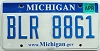 2008 Michigan graphic # BLR-8861