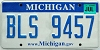 2008 Michigan graphic # BLS-9457