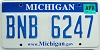2008 Michigan graphic # BNB-6247
