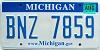 2008 Michigan graphic # BNZ-7859