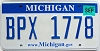 2008 Michigan graphic # BPX-1778