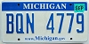 2008 Michigan graphic # BQN-4779