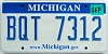 2008 Michigan graphic # BQT-7312