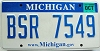 2008 Michigan graphic # BSR-7549