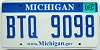 2008 Michigan graphic # BTQ-9098