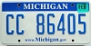 2008 Michigan graphic # CC-86405