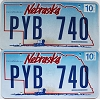 2008 Nebraska Wagon graphic pair # PYB-740